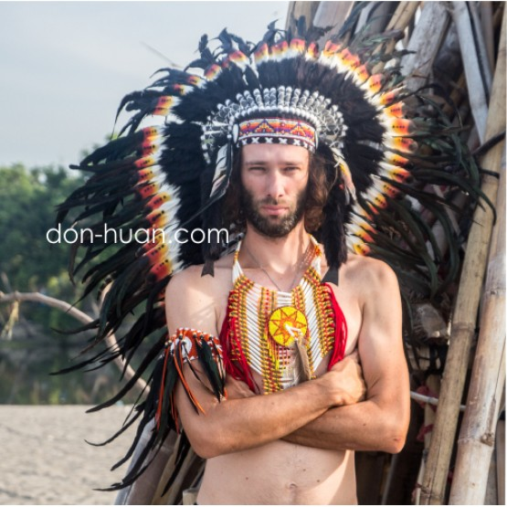 Индейское нагрудное украшение
