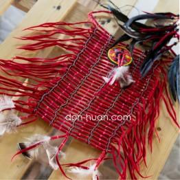 Индейское украшение красное