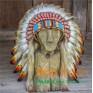 """Детский индейский головной убор """"Ребенок солнца"""""""