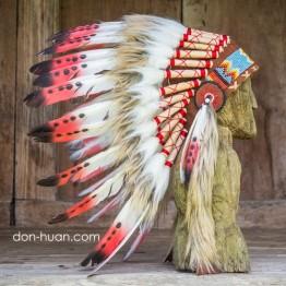 """Детский индейский головной убор """"Ребенок огня"""""""