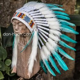 """Индейский роуч """"Мятный сон"""" длиной до плеч"""