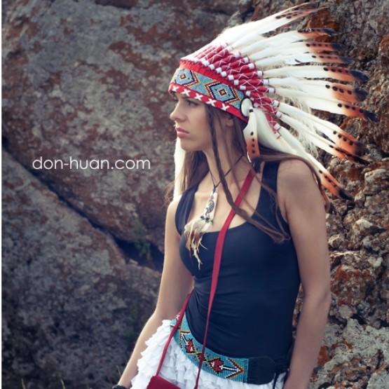 """Головной убор индейца """"Свободный день"""""""