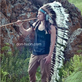 """Головной убор вождя индейцев """"Луч луны"""""""