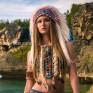 """Головной убор индейца """"Свободная вода""""."""