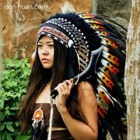 """Головной убор индейца """"Управляющий солнцем"""""""