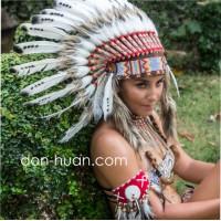"""Головной убор индейца """"Кэя"""""""