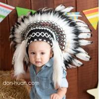 Индейский головной убор для малышей