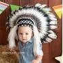 Индейский головной убор для малышей - Детский индейский головной убор