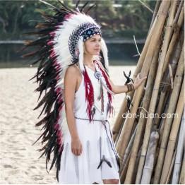 """Головной убор индейца """"Ачэк"""""""