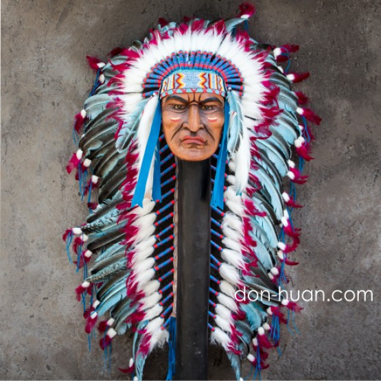 """Головной убор индейца """"Вихо"""" (до бедер)"""
