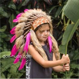 """Детская шапка индейца """"Кэтери"""""""