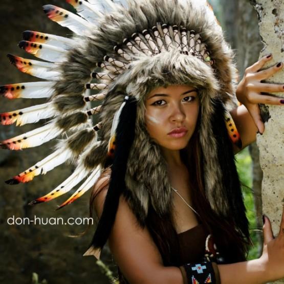 """Головной убор индейцев """"Вечерняя звезда"""""""