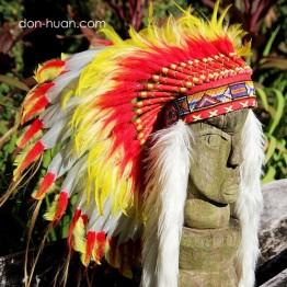 """Индейский головной убор роуч """"Воин солнца"""""""