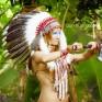 """Индейский головной убор  """"Повелительница духов"""""""