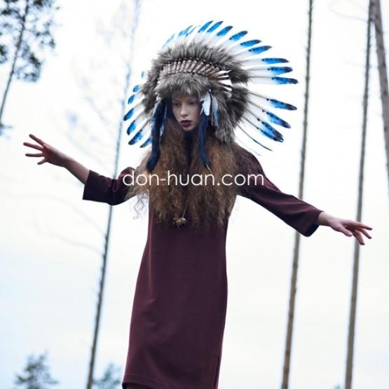 "Роуч головной убор индейца ""Утренняя звезда"""
